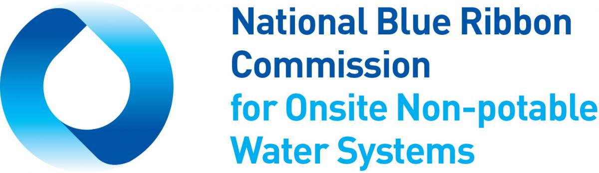 Blue Ribbon Picture national blue ribbon commission for onsite non-potable water systems